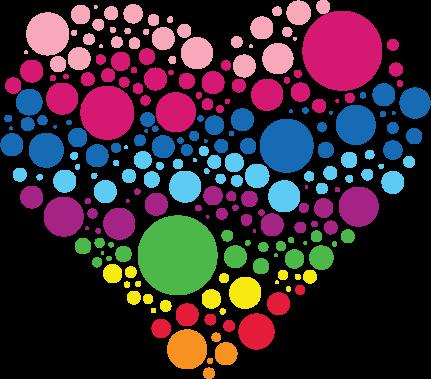 Icon Heart - Wht